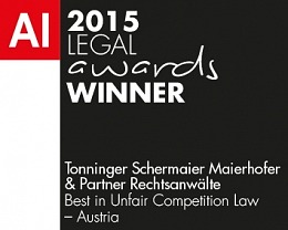 Best in Unfair Competition Law – Austria 2015