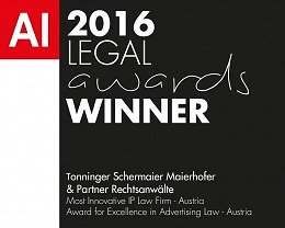 Legal Awards Winner 2016